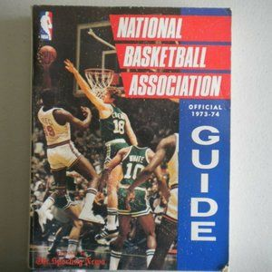 Vintage 1973/74 Official Basketball Guide